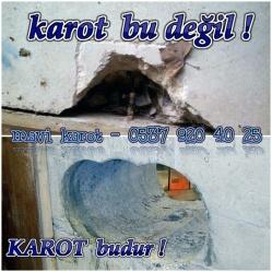 Karot, bu değil, Karot, budur, Mavi karot, Karotcu, 0537 920 40 25